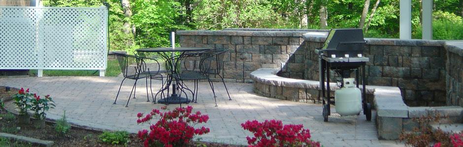 High end residential design able landscape company for Garden design richmond va
